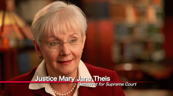 Supreme Court Justice Mary Jane Theis