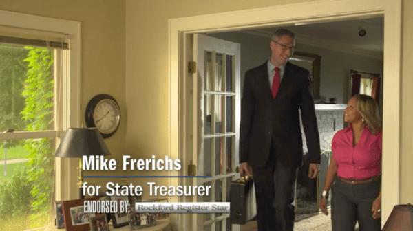 State Treasurer Mike Frerichs